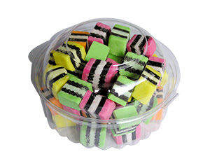 popular allsorts minipottles, New Generation Liquorice